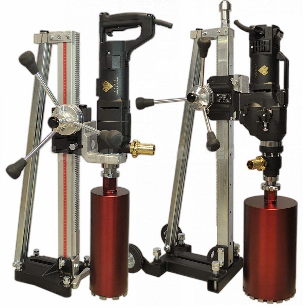 Двигатели для алмазного сверления с микроударом