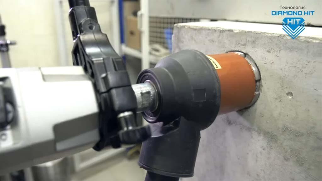 Технология Diamond Hit. Сверление отверстий для монтажа электрических подрозетников